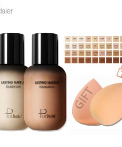 Pudaier Face Foundation Makeup Liquid Foundation Cream Matte Foundation Base Face Concealer Cosmetic Dropshipping Makeup