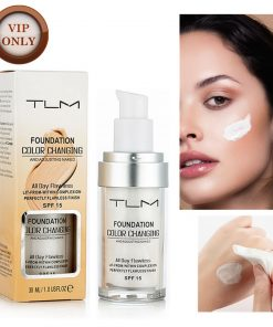 TLM 30ML Color Changing Foundation Face Makeup Base Liquid Foundation Long Lasting Brighten Makeup Facial Skin Care Concealer