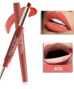 Miss Rose Double 2 in 1 Lipstick liner Color 40