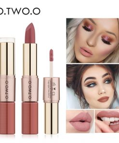 O.TWO.O 12 Colors Matte Lipstick Waterproof Liquid Lipsticks Long Lasting Velvet Matt Moisturizer Red Lips Gloss Makeup Cosmetic